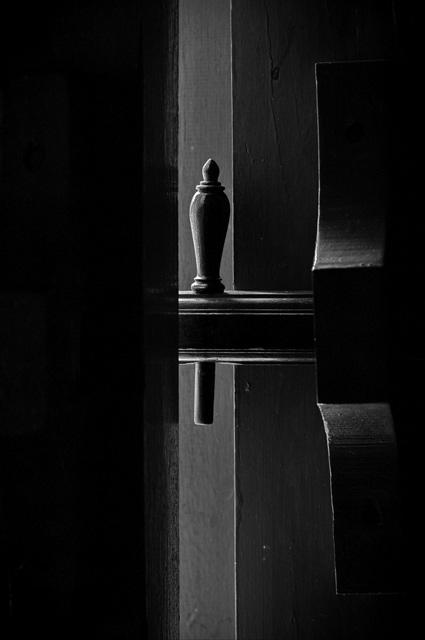 กลอนไม้ โบสถ์เก่า ภาพโดยนายชนกานต์ นิพพิทา