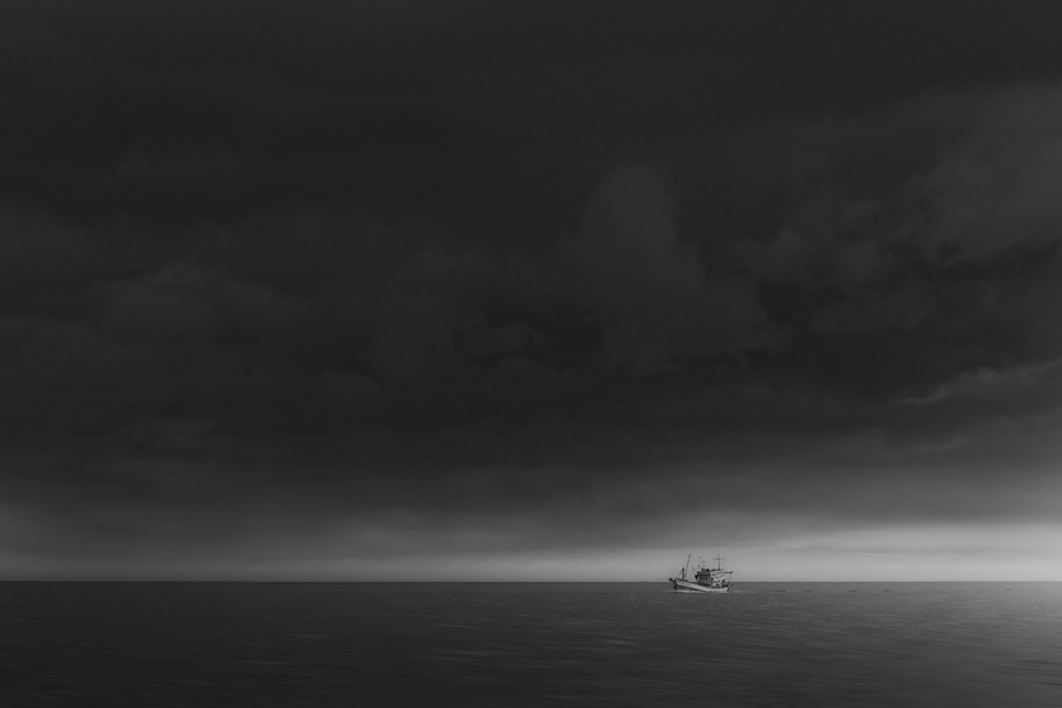 พายุ ภาพโดยนายจามิกร ศรีคำ